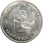 Amusement Token - Family Fun Center (Peabody, Massachusetts) – reverse