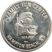 Token - Family Fun Center (Hampton Beach) – reverse