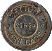 Token - Gettone Mini Cars (29R24; type 2) – obverse