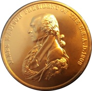 Token - Peace and Friendship (James Madison) – obverse