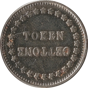 Token - Gettone (24 mm) – obverse