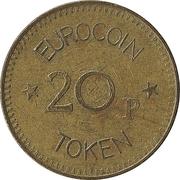 20 Pence - Eurocoin Token – reverse