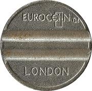 Token - Eurocoin London – obverse