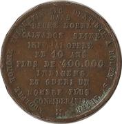 Token - Dentiste Turquetin (Rouen) – reverse