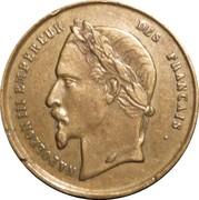 Token - Napoleon I / Napoleon III – reverse