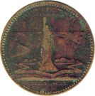 So-Called Dollar - 1893 Columbian Exposition (Statue of Liberty) – reverse