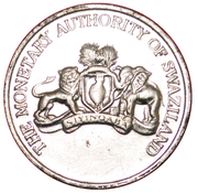 20 Cents - The Royal Swazi Casino – obverse