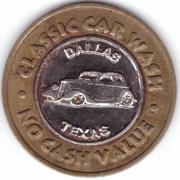 1 Dollar - Classic Car Wash (Dallas, Texas) – obverse