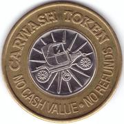 Carwash Token - Greg's (Porterville, California) – reverse