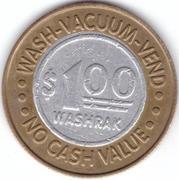 1 Dollar - Washpak Carwashes (Palmdale, California) – reverse