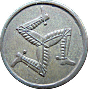 1 Penny - Onchan Internment Camp (POW Token Coinage; Isle of Man) – reverse