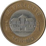 Car Wash Token (Le Vallette, Torino) – obverse