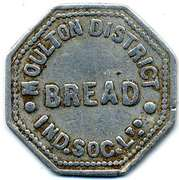 Token - Moulton District Ind SL (Bread) – reverse