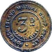 3 Pence - Portsea Island Mutual Co-op – reverse