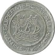 Token - Supermercati R.B.P. (Riva del Garda) – obverse