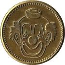 Token - No Cash Value (Clown; 20 mm; Short teeth around edge) – obverse