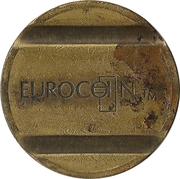 Token - Eurocoin London – reverse