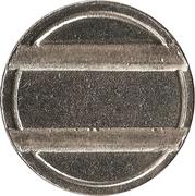 Token (2 grooves) – reverse