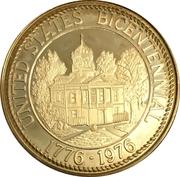 Token - United States Bicentennial, Burke County, North Carolina – reverse