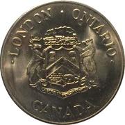 Token - London, Ontario (1855 -1980 Anniversary) – obverse