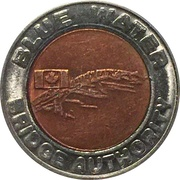 Token - Blue Water Bridge – obverse