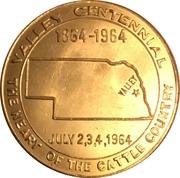 50 Cents - Valley, Nebraska (Valley Centennial) – obverse