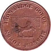Farthing - Ironbridge Gorge Museum Token (convex image) – reverse