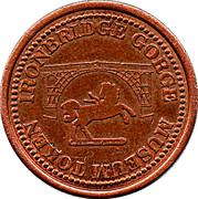 Farthing - Ironbridge Gorge Museum Token (flat image) – reverse