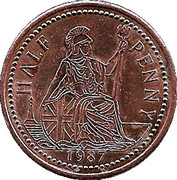 ½ Penny - Ironbridge Gorge Museum Token (flat image) – obverse