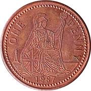 1 Penny - Ironbridge Gorge Museum Token (flat image) – obverse