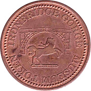 1 Penny - Ironbridge Gorge Museum Token (flat image) – reverse