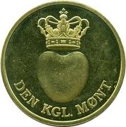 Token - Den Kgl. Mønt – obverse