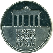 Lithuanian Mint Token - World Money Fair 2014 – obverse