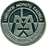 Lithuanian Mint Token - World Money Fair 2014 – reverse
