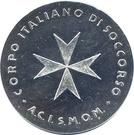 Token - Corpo Italiano di Soccorso – obverse