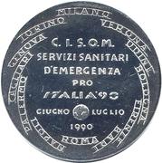 Token - Corpo Italiano di Soccorso – reverse
