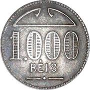 Token - 1000 Réis – obverse