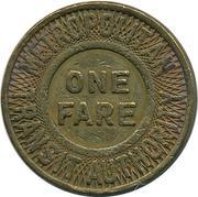 1 Fare - Metropolitan Transit Authority (Boston, Massachusetts) – reverse