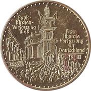 Libertaler - F.D.P. (Wolfgang Mischnick) – reverse