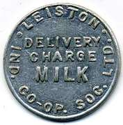 Milk Token - Leiston Industrial CSL – obverse