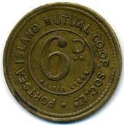 6 Pence - Portsea Island Mutual CSL – reverse