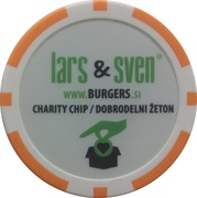 Charity Token - Lars&Sven Burgers – reverse