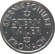 1 Stern Taler - Stern-Apotheke (Kronach) – obverse