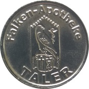 1 Taler - Falken-Apotheke – obverse