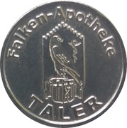 1 Taler - Falken-Apotheke – reverse