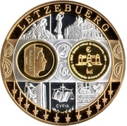 Token - European Currency (Luxembourg) – obverse