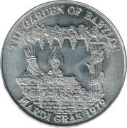 Mardi Gras Token - The Garden of Babylon (Jefferson Parish, Louisiana) – obverse