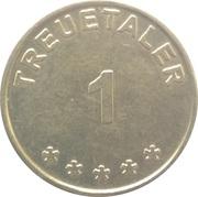 1 Treuetaler - Kienberg Apotheke & Glattal Apotheke – reverse