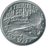 Mardi Gras Token - Alla (A Tribute To Jules Verne) – reverse