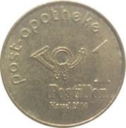 1 Postillon - Post Apotheke (Kassel) – obverse